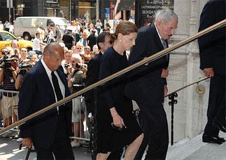 David ROCKEFELLER, Annette et Oscar DE LA RENTA.