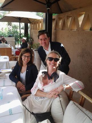 NOV.2015. MANDARIN ORIENTAL: EMILIE PIGNEL, MARK BRADFORD, VANESSA BRANSON