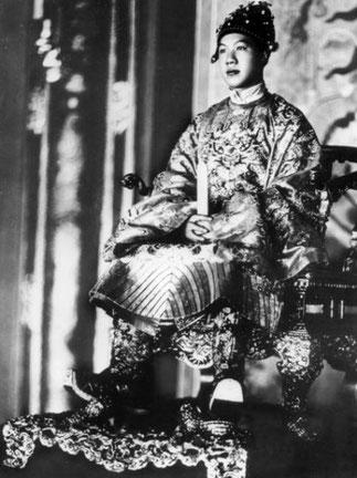 L'EMPEREUR BAO DAI ( 22 Oct. 1913 Huê+31 JUILLET 1937 Paris). 13è et DERNIER EMPEREUR DE LA DYNASTIE NGUYÊN. ANNAM