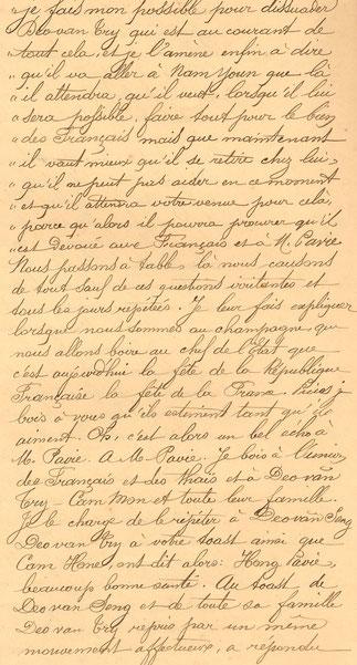 JOURNAL DE VACLE, 15 JUILLET 1890