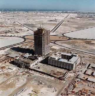 DWC DEBUT 1970 : EN CONSTRUCTION