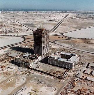 DWC DEBUT 1970 : EN CONSTRUCTION
