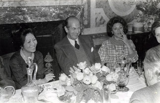 Maguy Tran, Olivier Giscard d'Estaing, Philippine de Rothschild.