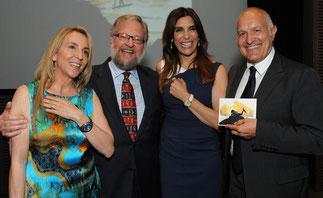 Susan et David,Jo Champa et Michele Sofisti