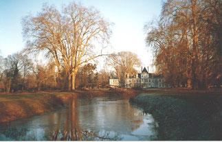 1978 . Création d'un étang par Maguy Tran