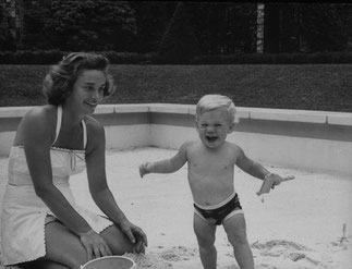 AOÛT 1965. HAPPY et NELSON JUNIOR à KYKUIT