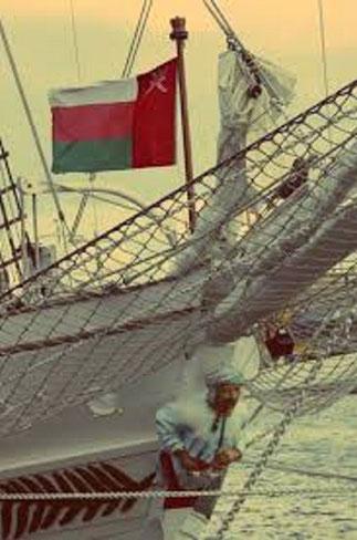 La figure de proue du SHABAB OMAN rend hommage aux marins arabes qui régnèrent jadis en maître sur l'Océan Indien.
