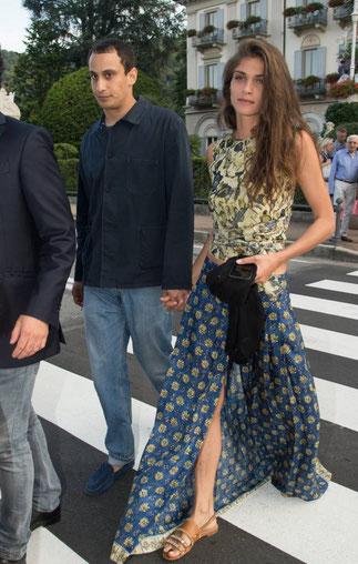 Alex Dellal et son épouse Elisa Sednaoui.