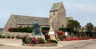 Statue de Millet.  Place de Gréville.
