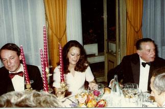 Notre ami Jean-François Hervieu,Pt du Conseil economique et social de Normandie et l'épouse de Michel Tomasi, secrétaire général de la Préfecture (au milieu) n'osaient rien dire. Seul le Président de la FIDAL (à dte) est ZEN