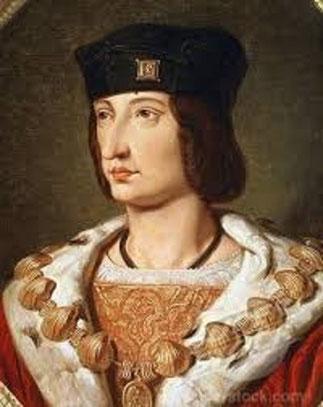 CHARLES VIII  1470 + 1498