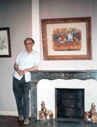 LEO M.   Expo.1956 Cinquantenaire mort Cézanne.