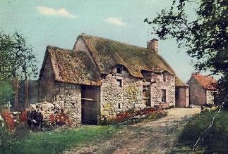 La nostalgie des demeures d'antan.  Moulin de la Coudrerie à Rethoville où naquit Marie Ravenel le 21 Août 1811 à 20h.