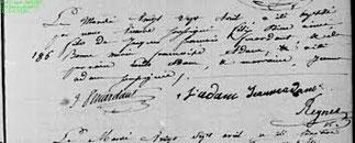 27 Avril 1819.    Baptême de Félix Bienaimé Feuardent.
