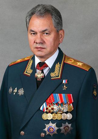 GENERAL Sergueï CHOÏGOU né en 1955, Président de la Société depuis Novembre 2009.
