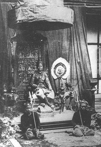 S. M. SAKHARINE ROI DE LUANG PRABANG 1888-1903
