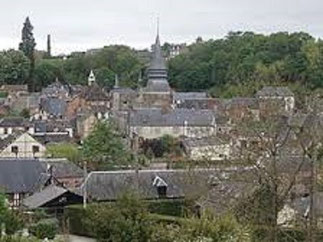 Le village de Broglie dont Vicky fut Maire