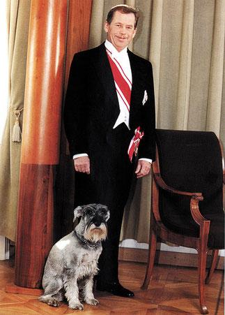29 Décembre 1989. 10è Chef de l'Etat Tchécoslovaque