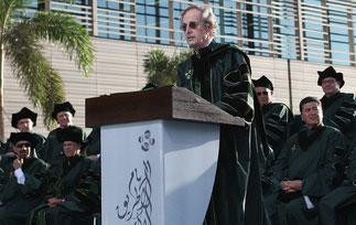 Dr. Jean-Lou CHAMEAU, ancien Pt de Caltech installé dans ses nouvelles fonctions : Président de KAUST