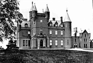 BUCHANAN CASTLE. FIEF DU CLAN GRAHAM. Photo VERS 1895