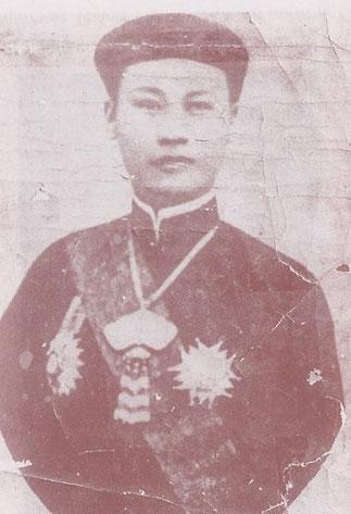 L'EMPEREUR THANH THAI EN EXIL à L'ÎLE DE LA REUNION
