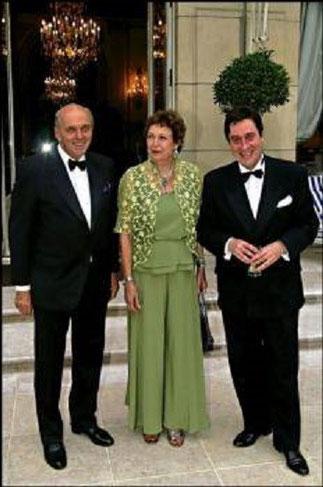 LL.AA.RR  avec M. Jacques-Henri AUCLAIR de l' AUC - ASSOCIATION UNITE CAPETIENNE