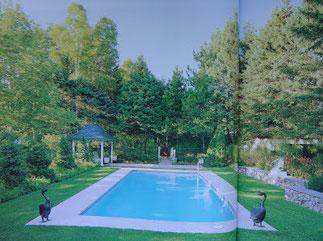 La nouvelle piscine.
