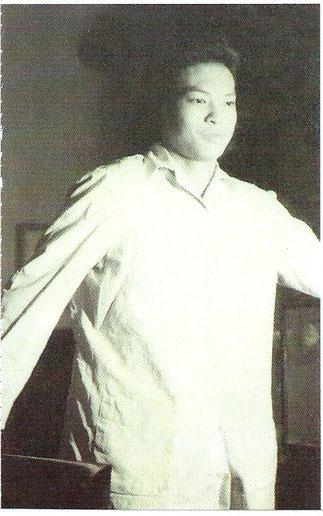 1966. GIAO, étudiant à la Fac de Droit de Huê. Extraite du Livre .