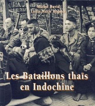 """LE LIEUTENENT-COLONEL MICHEL DAVID, ST-CYR, PROMOTION """"LIEUTENANT CARRELET DE LOISY"""" ET LE SOUS-LIEUTENANT LOUIS-MARIE REGNIER, MASTER EN HISTOIRE. Editeur: LE PAYS DE DINAN 2012 192 pages. Ci-dessous LES ECUSSONS DES 3 BATAILLONS THAÏS.vvvvv"""