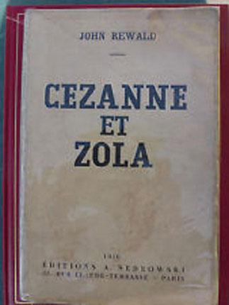 Thèse de John REWALD à la SORBONNE sous  la directtion d'Henri FOCILLON (1936) ^^^^^^^^^^ <Publié en anglais en 1946 grâce à BARR - MOMA: