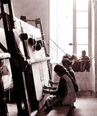 OUVRIERES ARMENIENNES.Société TAPIS ORIENT à MARSEILLE (1922-1945).