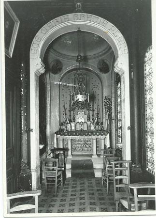 La chapelle au 19e siècle