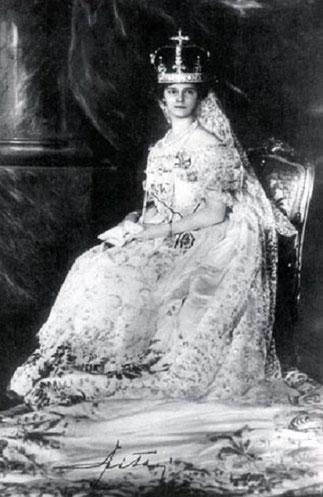 1916. S.A.I  ZITA IMPERATRICE D'AUTRICHE, REINE DE HONGRIE, REINE DE BOHÊME