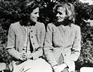 1937. Babe Paley et sa soeur Betsey Roosevelt