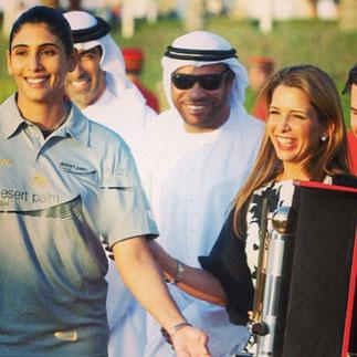 22 FEVRIER 2013. CARTIER INTERNATIONAL DUBAI POLO . VICTOIRE EQUIPE DE MAITHA.