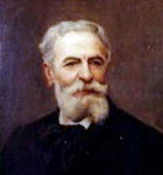 AUTOPORTRAIT D'ALPHONSE MOUTTE né et mort à MARSEILLE. 4 MARS 1840 - 21 AVRIL 1913.