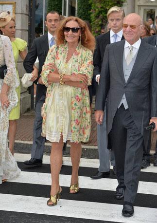 Diane Von Furstenberg et son époux Barry Diller