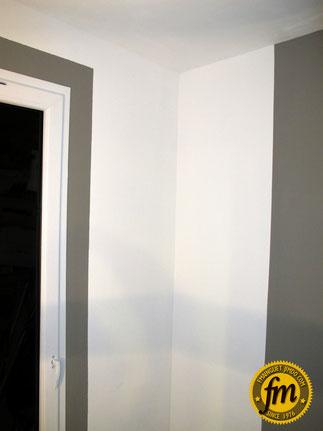 Réalisation d'une arrière cuisine sur mesure - Peinture