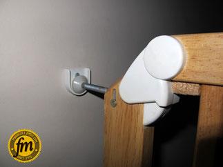 Fixation Barrière de sécurité sur mesure pour escalier