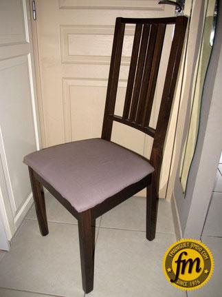 repeindre une chaise ikea