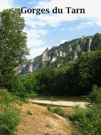 Urlaubsziel Gorges du Tarn, Tarnschlucht: Urlaub in Frankreich mit Wohnmobil, Camping, Wandern.