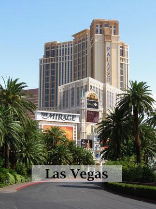 USA Reise: Las Vegas Strip mit Hotels und Casinos. Reisebericht. #usareise