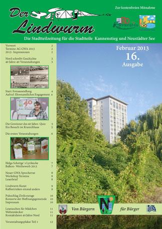 Titelblatt 16. Ausgabe
