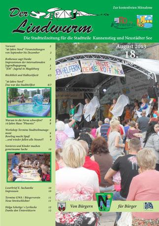 Titelblatt 18. Ausgabe