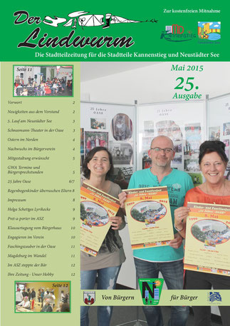 Titelblatt 25. Ausgabe