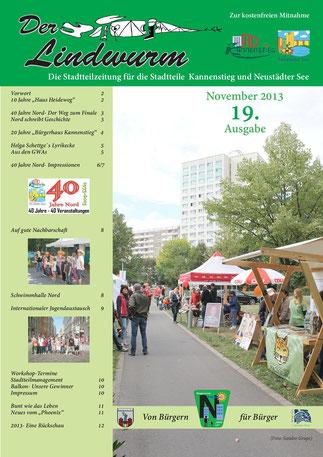 Titelblatt 19. Ausgabe