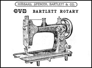HSB & Co.  BARTLETT ROTARY - 1915 Catalogue
