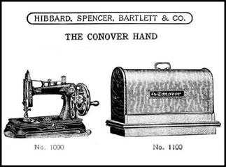 HSB & Co. THE CONOVER VS - 1910 Catalogue