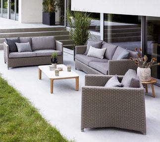 Diamond Garten-Lounge von Cane-line