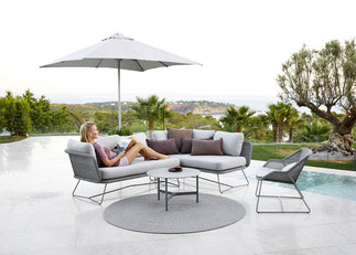Horizon Garten-Lounge von Cane-line